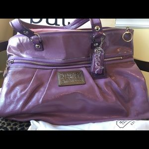 Gently used (like new) coach tote